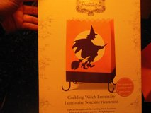 Halloween Hallmark Cackleing Witch Luminary Light in Algonquin, Illinois