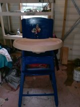 old style wooden Highchair reduced  to $60 in Camp Lejeune, North Carolina