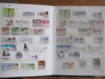 Stamp collection in Ramstein, Germany