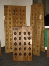 Authentic Oak Riddle/Champagne/Wine Rack in Ramstein, Germany