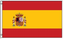Flag ~ Spain ~ 3ft x 5ft ~ New in Tacoma, Washington