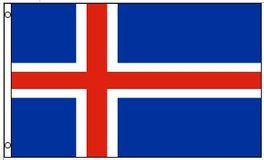 Flag ~ Iceland ~ 3ft x 5ft ~ New in Tacoma, Washington