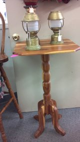 Cedar Accent Table DOWNTOWN TREASURES in Fort Leonard Wood, Missouri