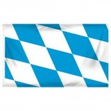 Flag ~ Bavaria ~ Oktober Fest ~ 3ft x 5ft ~ new in Tacoma, Washington
