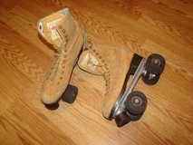 Tan suede leather skates- Mens or Womens in Pleasant View, Tennessee