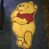 Disney PooH Bear Rug in Fort Benning, Georgia
