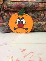 Pumpkins With Different Expressions in Alexandria, Louisiana