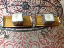 Candles w/ cand holders in Naperville, Illinois