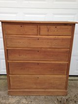 Mahogany Primitve 6 Drawer Chest in Cherry Point, North Carolina