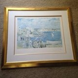 Salvador Dali litho signed and numbered in Conroe, Texas