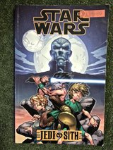 "Star Wars ""JEDI vs SITH"" Comic Book in Hinesville, Georgia"
