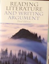 Reading Literature and Writing Argument  3rd edition in Beaufort, South Carolina