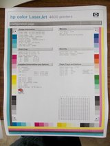 HP Laserjet 4600 Color with Full Toner in Lockport, Illinois