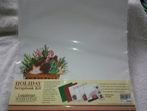 16 Christmas scrapbook pages and stickers in bookoo, US