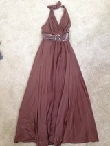 Bcbg xs brown formal dress in Naperville, Illinois