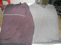 2 Mens Van Heusen pull-over Shirts 4XL in Glendale Heights, Illinois