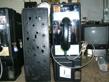 Ernest line powered pay telephone rduced $55 in Fort Campbell, Kentucky