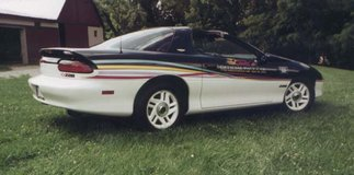 1993 Indy Pace Car in Fort Campbell, Kentucky