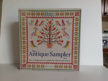 "CROSS STITCH "" THE ANTIQUE SAMPLER "" BY READER'S DIGEST in Aurora, Illinois"