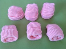 6 Baby girl beanies. New in Ramstein, Germany