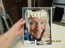 """Robin Williams"" On The Cover Of People Magazine in Kingwood, Texas"