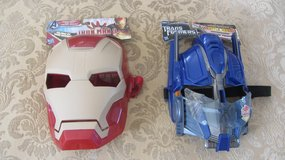 Iron Man, Optimus Prime Masks in Bolingbrook, Illinois