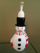 Christmas Snowman Soap Dispenser in Lockport, Illinois