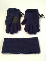 Boys 4-7 Winter Gloves & Head Band in Chicago, Illinois