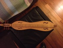 Offered in Oswego, Mountain Dulcimer, made by Robert MIze in Aurora, Illinois