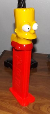 12 inch Bart Simpson Pez Dispencer in Camp Pendleton, California
