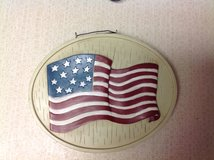 Cute American flag plaque /reversible dove) in Kingwood, Texas