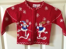 Girl's 2T Christmas Holiday Sweater in Oswego, Illinois