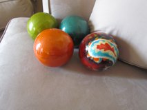 "Decorative Pier One Circle Balls 4"" in Lockport, Illinois"