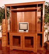 Free   Entertainment Center fits big TV in Ramstein, Germany