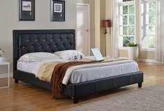 NEW QUEEN BED WITH HIGH END MEMORY FOAM MATTRESS ONLY in Riverside, California