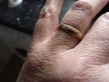 womans wedding ring, size P i think in Lakenheath, UK