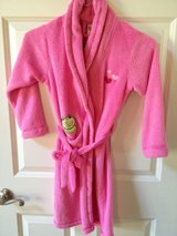 Like NEW!! Girl's 7/8 Pink Robe in Plainfield, Illinois