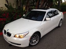 2008 BMW 528i low miles in Yucca Valley, California