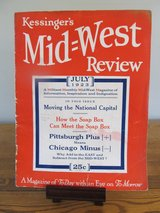 Reduced~Kessinger's Mid=West Review Publication July 1923 in Sandwich, Illinois
