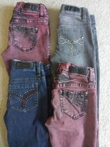 Little Girls size 7 Mudd stretch denim jeggings - WOW! in Naperville, Illinois