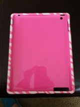 IPad  1 AND 2 Cover PINK ZEBRA STRIPE in Glendale Heights, Illinois