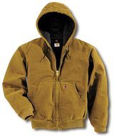 Carhartt Sandstone Quilt/Duck Lined Jacket in Houston, Texas