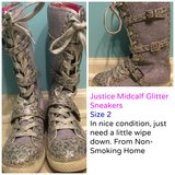 Justice Girl Size 2 Shoes in Plainfield, Illinois