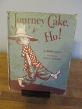 Journey Cake, Ho! by Ruth Sawyer~Vintage Book in Sandwich, Illinois