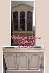 Vintage China Cabinet in Travis AFB, California