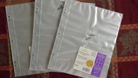 Hallmark 4 Pocket Photo Refill Pages in Aurora, Illinois