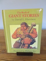 The Book of Giant Stories by David Harrison~Reduced in Sandwich, Illinois