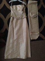 Formal Long Champagne Dress 14 in Yorkville, Illinois