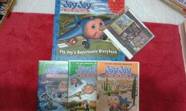 Jay Jay the jet plane dvd's & book in Perry, Georgia