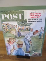 Saturday Evening Post (Cover only) July 2, 1960 in Sandwich, Illinois